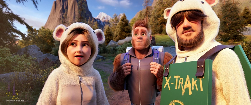 Bigfoot Family film animation