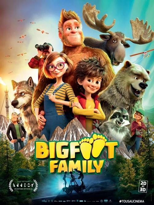 Bigfoot Family film affiche