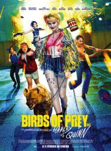 Birds of prey et la fantabuleuse histoire de Harley Quinn film affiche