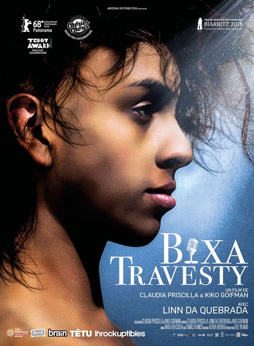 Bixa Travesty film documentaire affiche