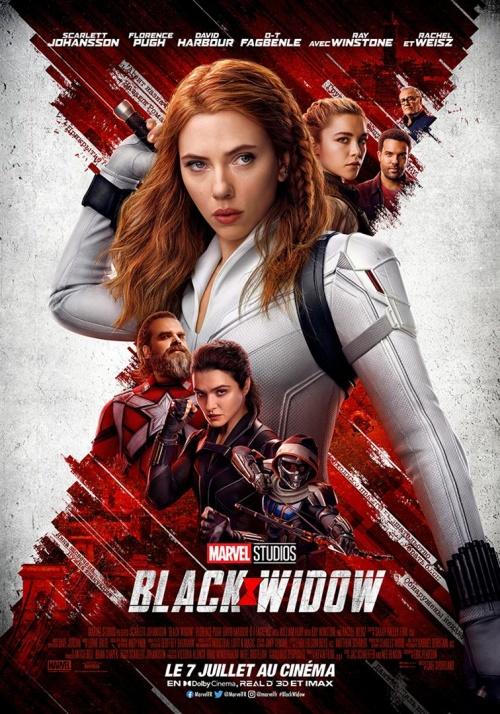 Black Widow film affiche réalisé par Cate Shortland