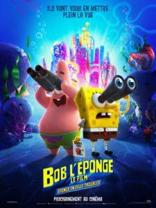 Bob l'éponge le film 3 : éponge en eaux troubles film animation affiche