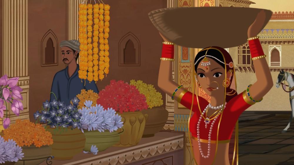 Bombay rose film animation image