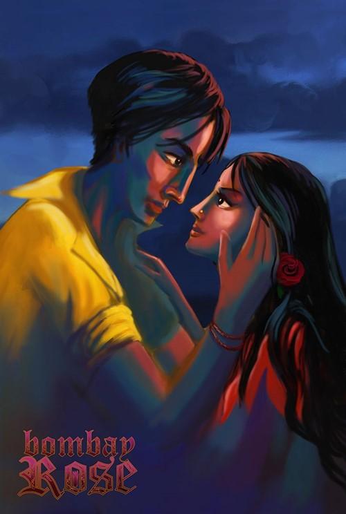 Bombay rose film animation affiche