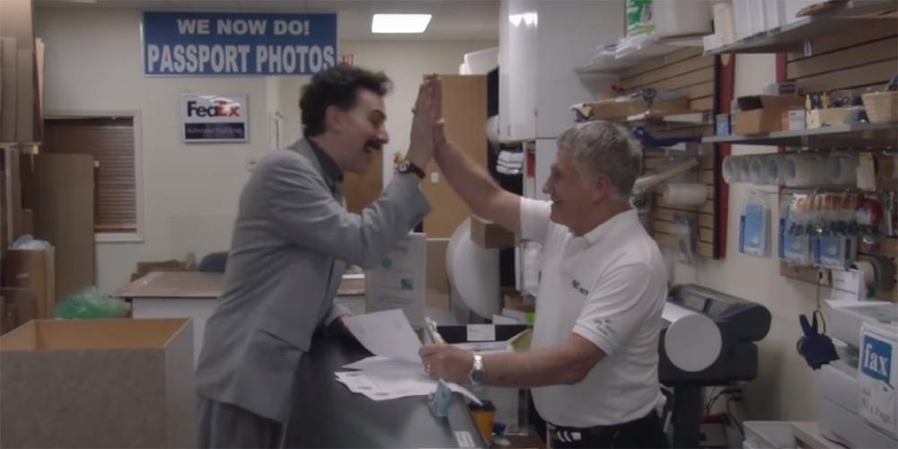 Borat 2 nouvelle mission filmée film documentaire