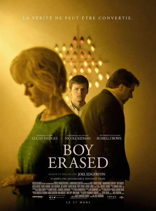 Boy Erased film affiche