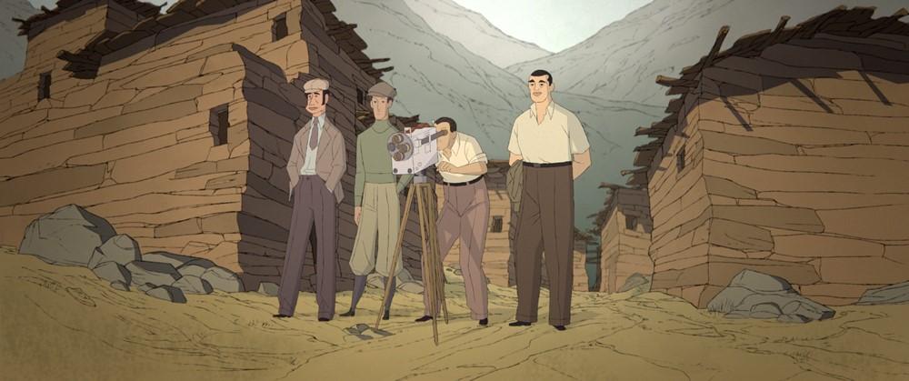 Buñuel après l'âge d'or film animation image