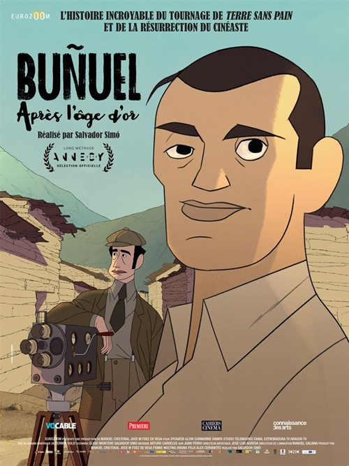 Buñuel après l'âge d'or film animation affiche