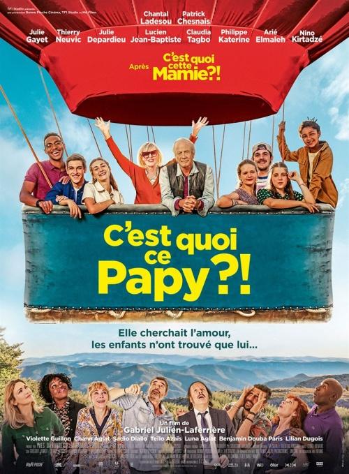 C'est quoi ce papy ? film affiche réalisé par Gabriel Julien-Laferrière
