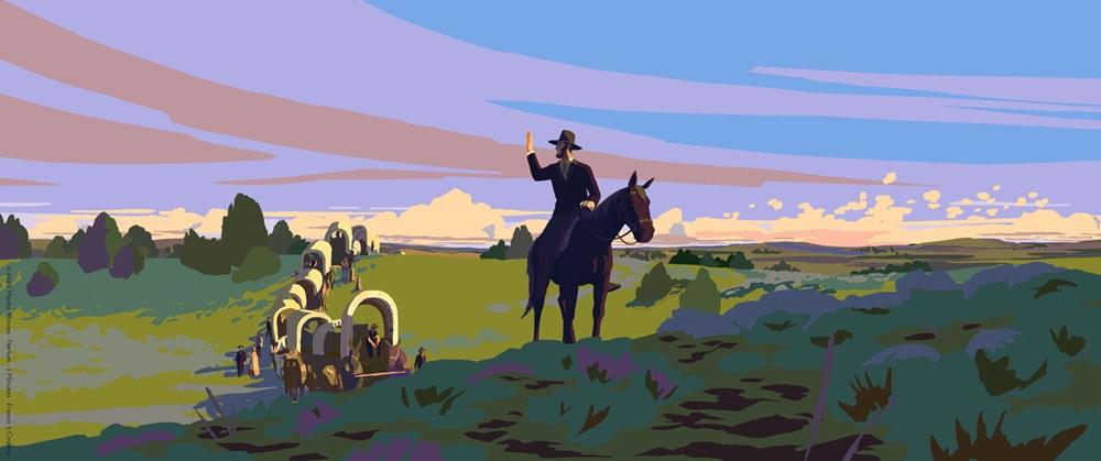 Calamity une enfance de Martha Jane Cannary film animation