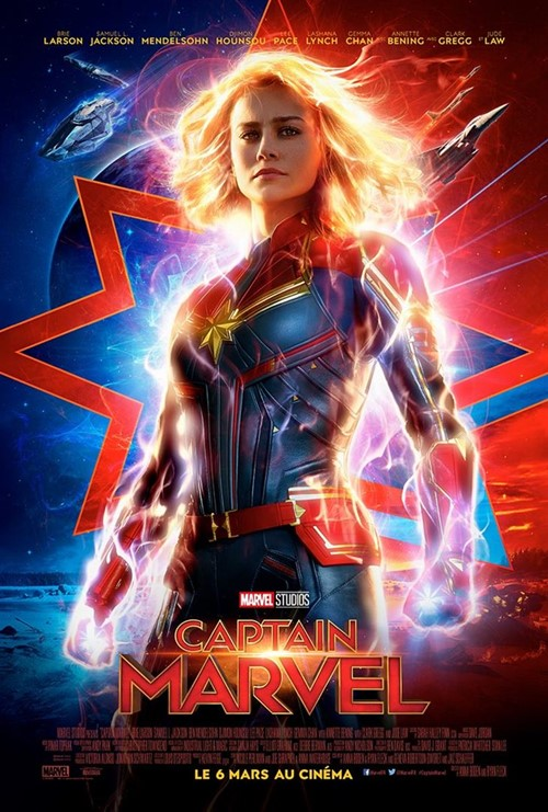 Captain Marvel film affiche