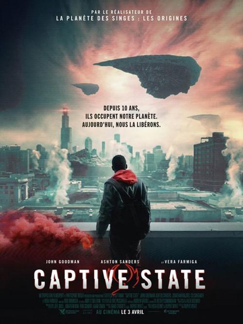 Captive state film affiche