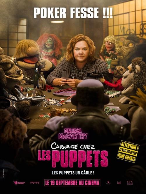 Carnage chez les puppets film affiche