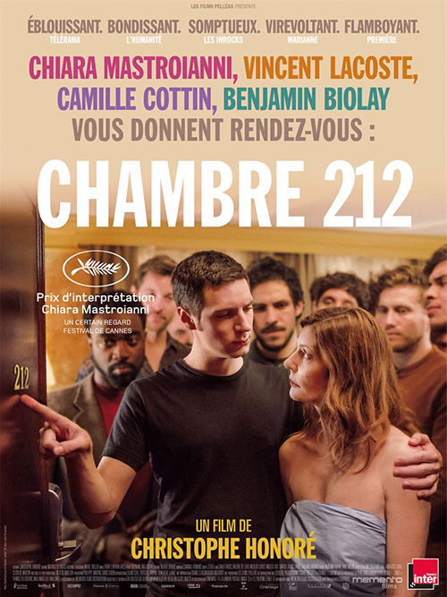 Chambre 212 affiche