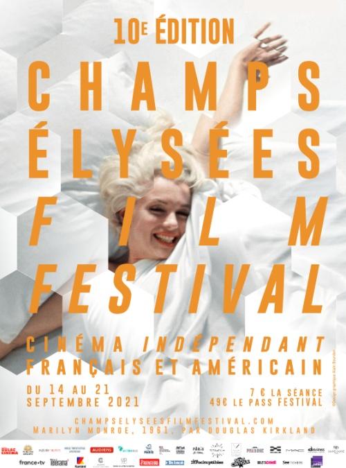 Champs-Élysées film festival 2021 affiche
