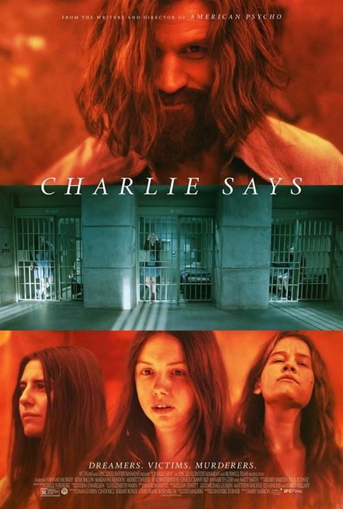 Charlie says film affiche