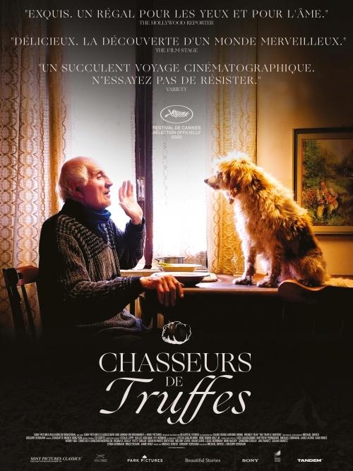 Chasseurs de truffes film documentaire affiche réalisé par Gregory Kershaw et Michael Dweck