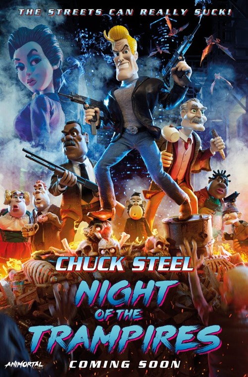 Chuck Steel : Night of the trampires film affiche