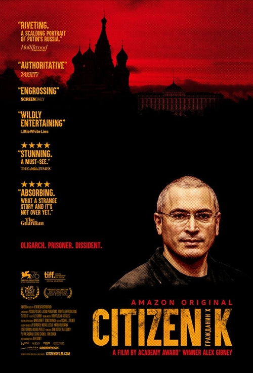 Citizen K film documentaire affiche