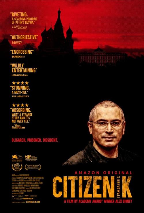 Citizen K film documentaire affiche