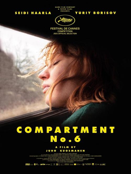 Compartement N°6 film affiche réalisé par Juho Kuosmanen