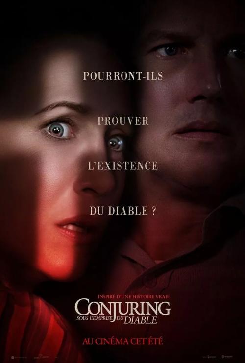 Conjuring 3 : sous l'emprise du diable film affiche réalisé par Michael Chaves