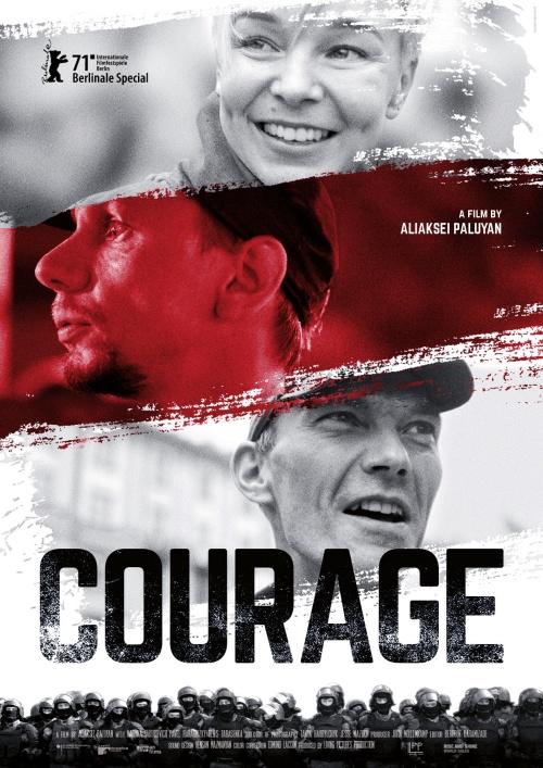 Courage film documentaire affiche réalisé par Aliaksei Paluyan