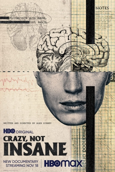 Crazy, not insane film documentaire affiche