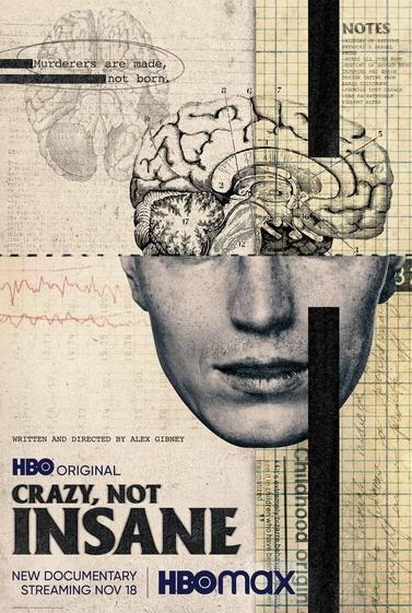 Crazy, not insane film documentaire affiche
