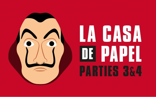 Critique Série La Casaa de Papel parties 3 et 4 Une