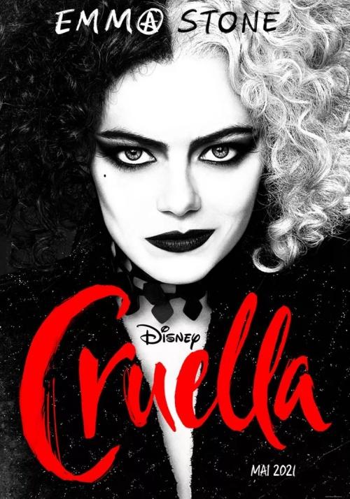 Cruella film affiche réalisé par Craig Gillespie