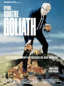 Cyril contre Goliath film documentaire affiche