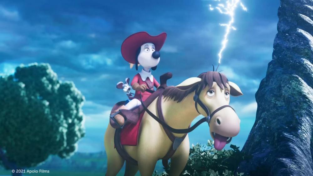 D'Artagnan et les trois mousquetaires film animation animated movie