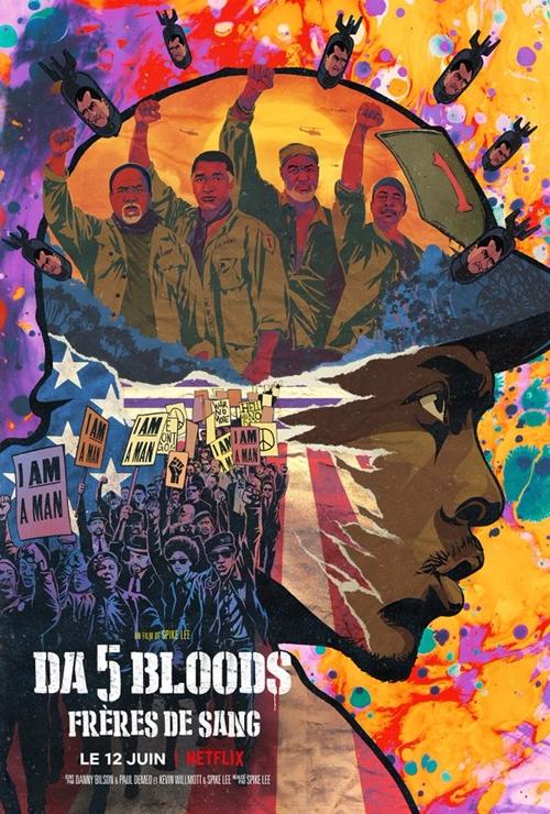 Da 5 Bloods film affiche