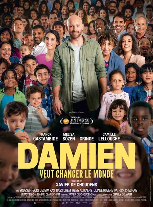Damien veut changer le monde film affiche