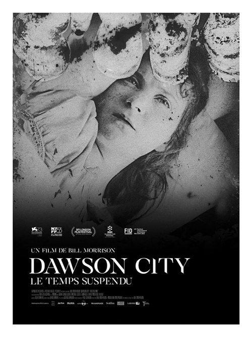 Dawson City : le temps suspendu film documentaire affiche