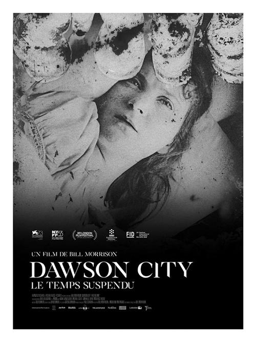 Dawson City : le temps suspendu film documentaire affiche