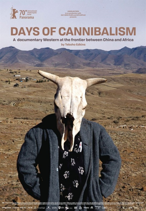 Days of canibalism film documentaire affiche réalisé par Teboho Edkins