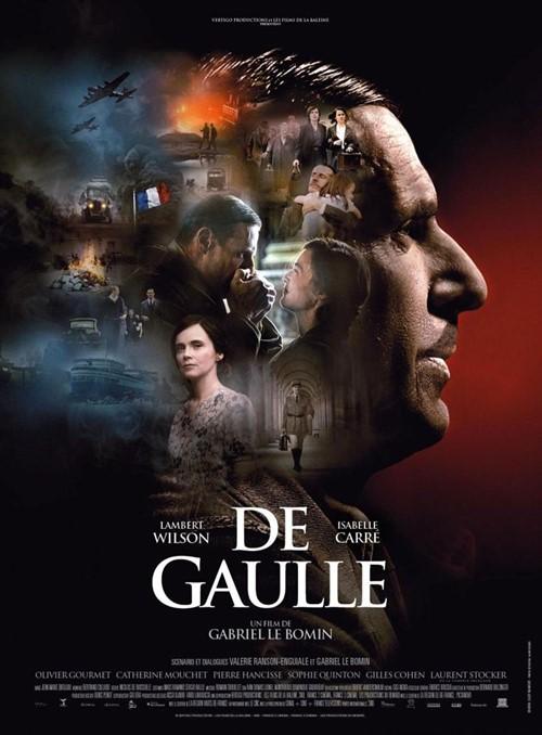 De Gaulle film affiche