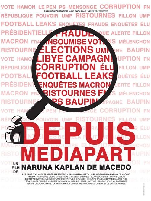 Depuis Médiapart documentaire affiche