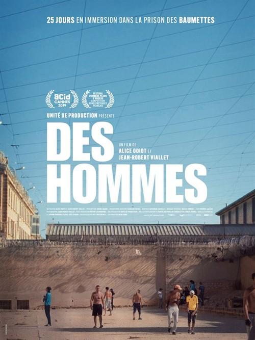 Des hommes film documentaire affiche