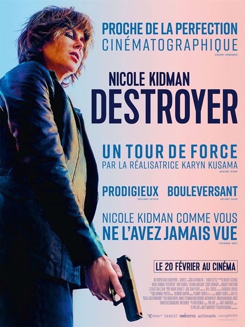 Destroyer film affiche
