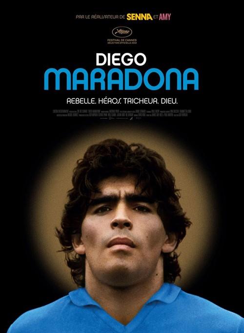 Diego Maradona film documentaire affiche