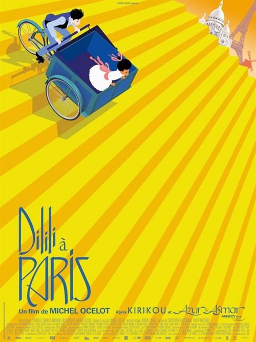 Dilili à Paris film animation affiche