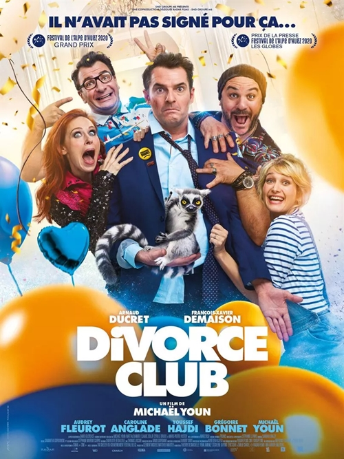 Divorce Club film affiche