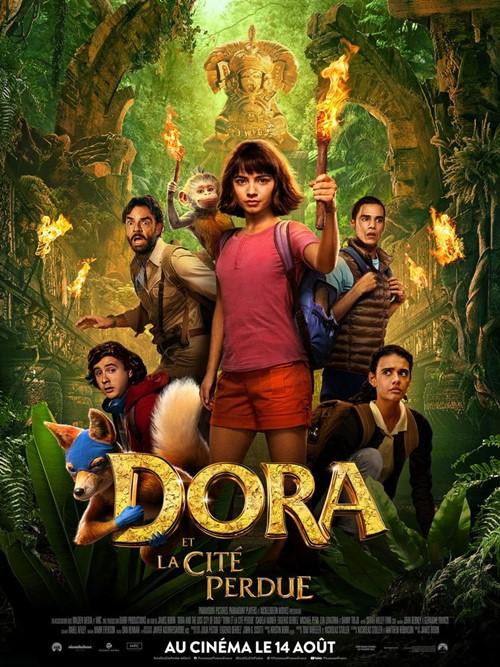 Dora et la cité perdue film affiche