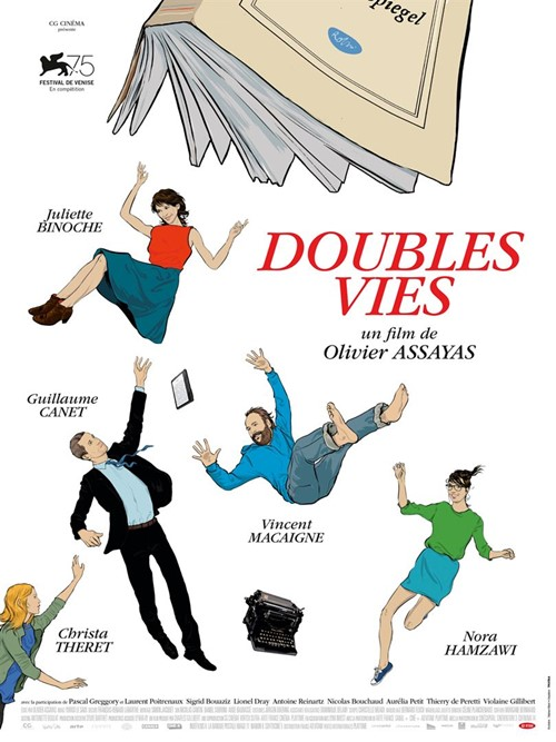 Doubles vies film affiche