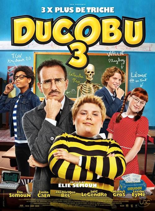 Ducobu 3 film affiche