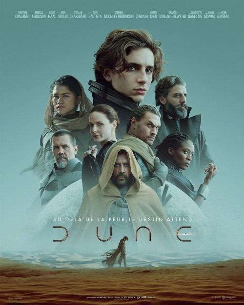 Dune partie 1 film affiche réalisé par Denis Villeneuve