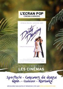 Ecran Pop Dirty Dancing Pathé Bellecour